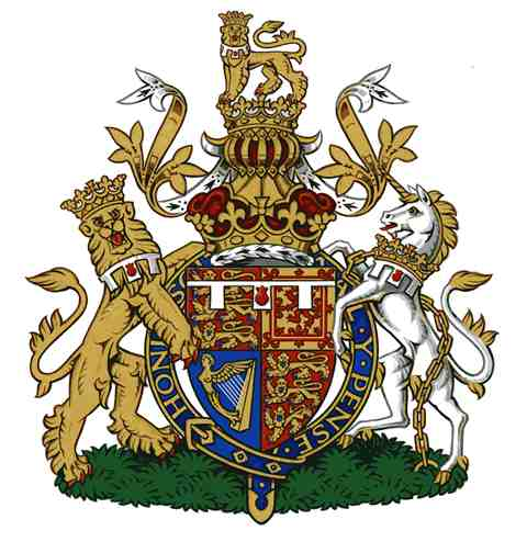 The arms of HRH the Duke of Cambridge