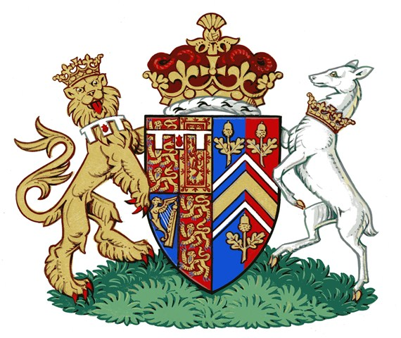 The arms of HRH the Duchess of Cambridge