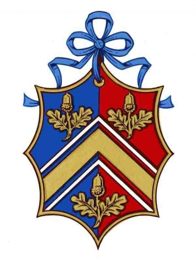 The arms of Miss Catherine Middleton