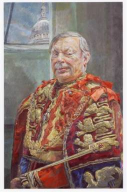 portrait of Peter Gwynn-Jones, CVO, Garter King of Arms