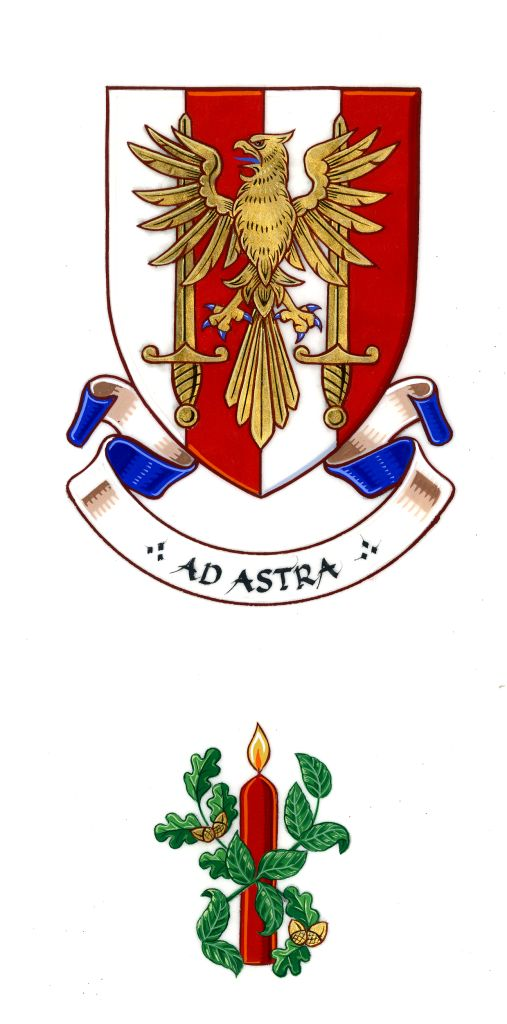 Arms of Fiona Josephine Adler