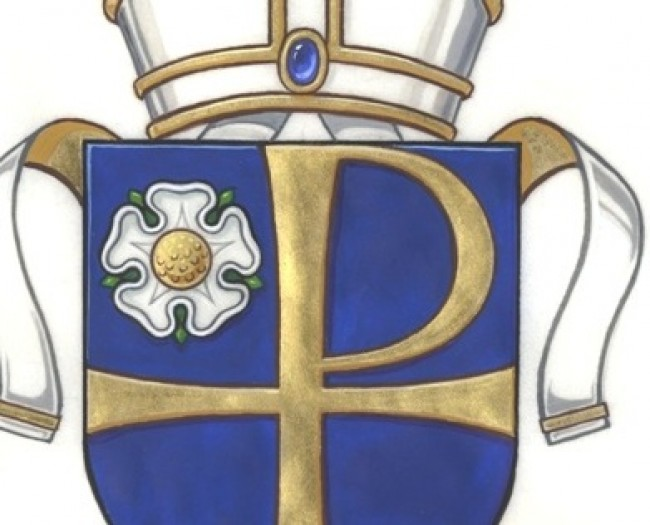 The Arms of the Bishopric of Leeds