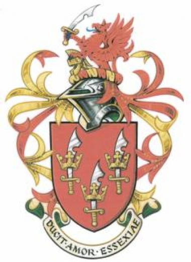 Arms and Crest of The Essex Society for Archaeological and History