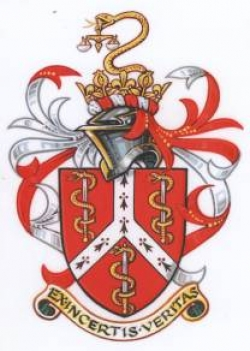 Arms, Crest and Badge of Faculty of Forensic and Legal Medicine