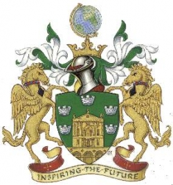 Arms, Cerst and Supporters of the Royal Society of Arts