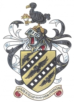 Arms and Crest of Sir Christopher Frayling