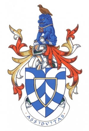 The Arms and Crest of John Barry Mortimer