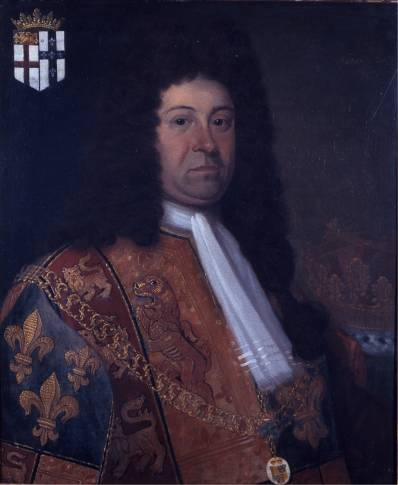 portrait of Peter Le Neve (1661-1729)