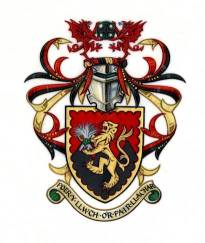 Arms of EVANS, Myron Wyn, of Craigcefnparc, Swansea