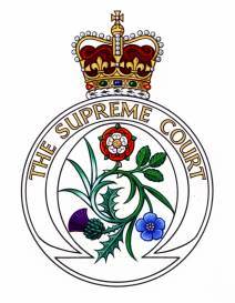 Badge of Supreme Court of the United Kingdom