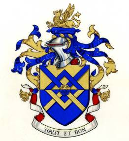 Arms granted to William Henry SLINGER