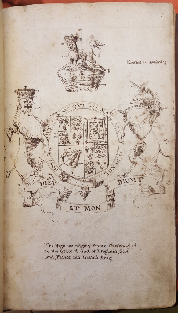 Arms of Charles II