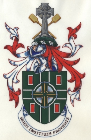 The Arms and Crest of Glynne Stanfield