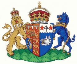 The Coat of Arms of HRH The Duchess of Cornwall