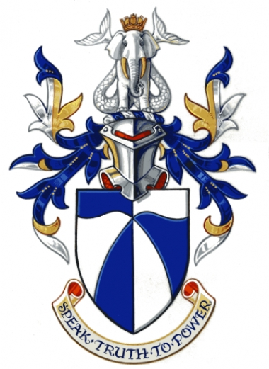 The Arms and Crest of Professor S. W. Haines