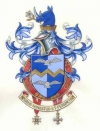 The Arms and Crest of Gary Robert Coward