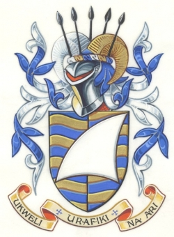 The Arms and Crest of Robert John Seabrook
