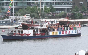 Connaught during the Diamond Jubilee Thames Pageant