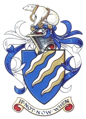 Arms and Crest of Loyd Daniel Gilman Grossman