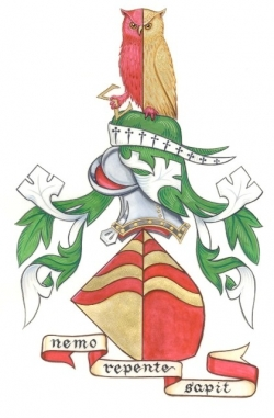 The Arms of Peter Robert Williams