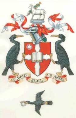 Arms, Crest, Badge and Supporters of Liverpool Hope University