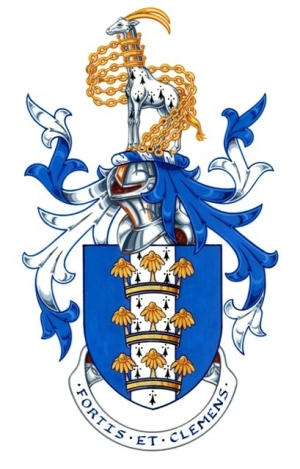 The Arms and Crest of Simon Camamile